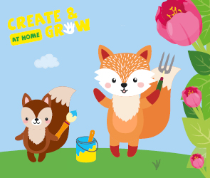 Create and Grow at Home - Summer Half Term