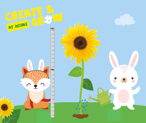 Create and Grow at Home - Easter Holidays