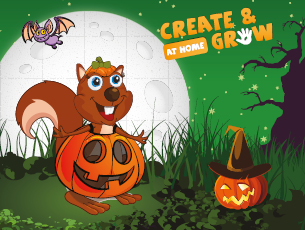 Create and Grow At Home - Spooky Half Term