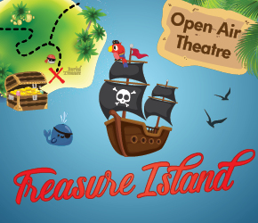 Treasure Island - Open-Air Theatre - Milford - NEW!