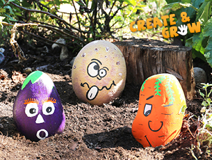 Create and Grow - Paint a Pebble