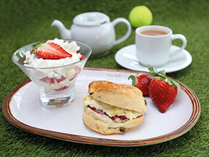 Wimbledon Cream Tea